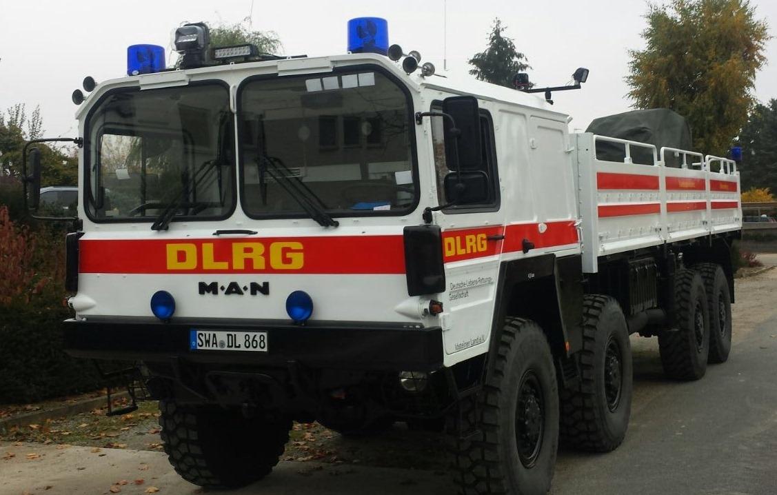 GW-Logistik (2) mit Ladekran - DLRG Ortsgruppe Idsteiner